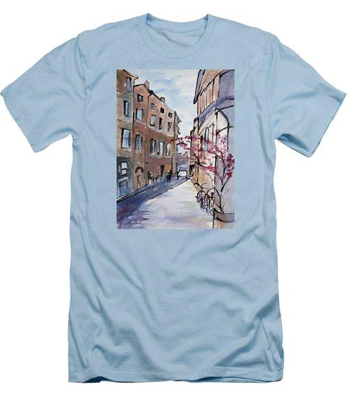 Rome Street Scene IIi Men's T-Shirt (Athletic Fit)