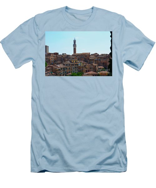 Roofs Of Siena Men's T-Shirt (Athletic Fit)