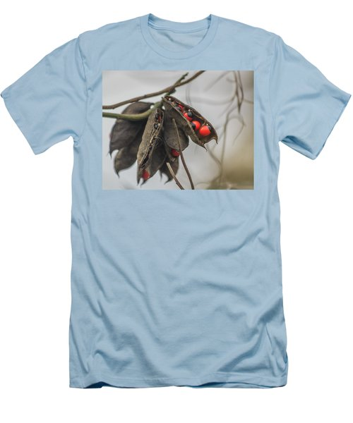 Rosary Pea Men's T-Shirt (Athletic Fit)