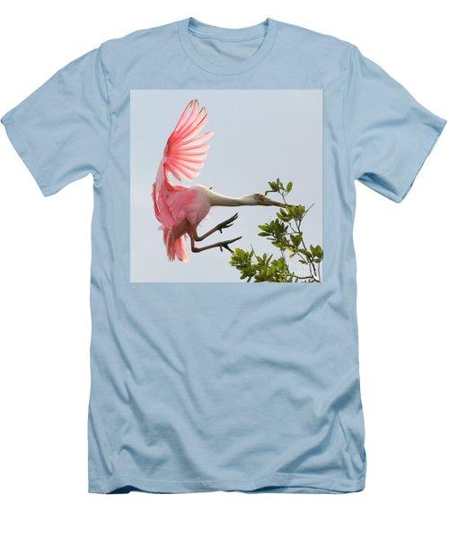 Rough Landing Men's T-Shirt (Slim Fit) by Carol Groenen