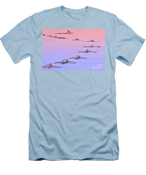 Rowers Arc Men's T-Shirt (Athletic Fit)