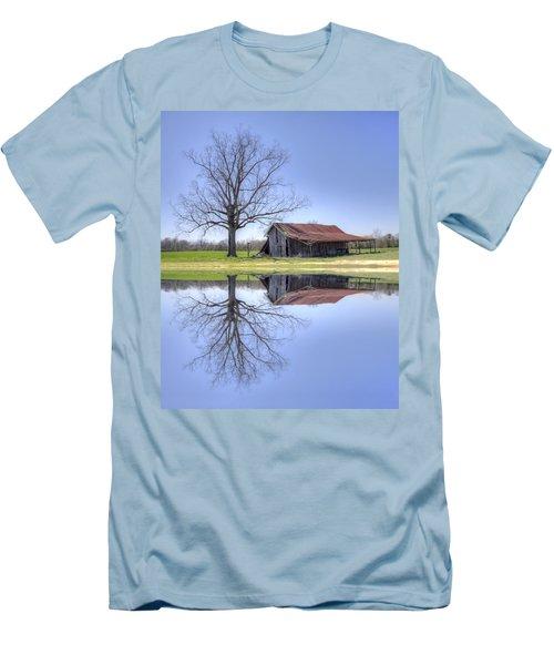 Rustic Barn Men's T-Shirt (Athletic Fit)