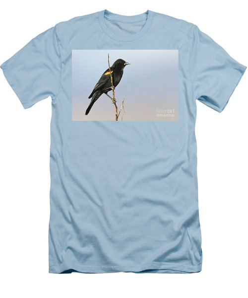 Rwbb On Stick Men's T-Shirt (Athletic Fit)