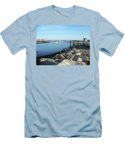 Rye Harbor  Men's T-Shirt (Athletic Fit)
