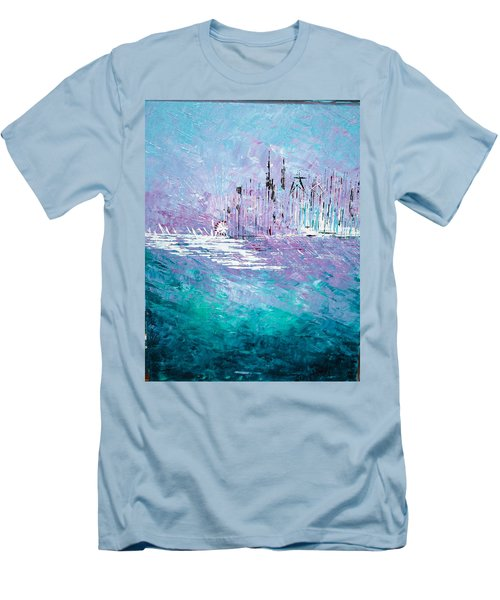 Sailing South - Sold Men's T-Shirt (Athletic Fit)