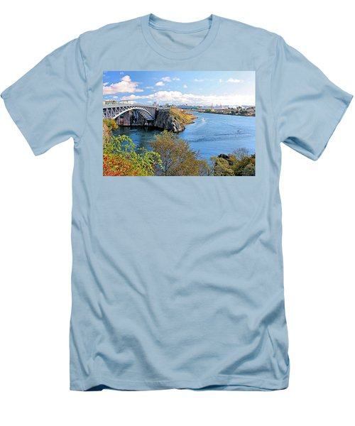 Men's T-Shirt (Slim Fit) featuring the photograph Saint John by Kristin Elmquist