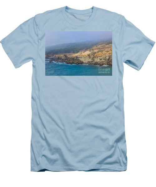 Salt Point State Park Coastline Men's T-Shirt (Athletic Fit)