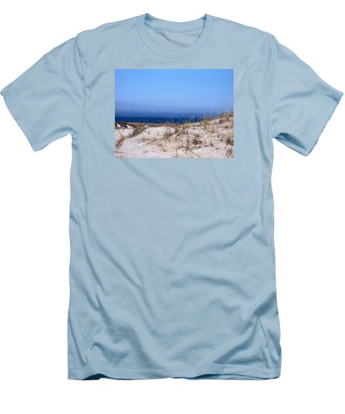 Sand And Sky Men's T-Shirt (Slim Fit) by Catherine Gagne