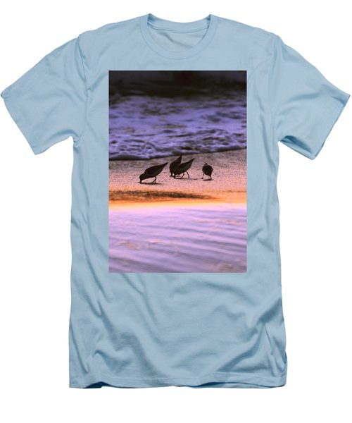 Sandpiper Morning Men's T-Shirt (Athletic Fit)