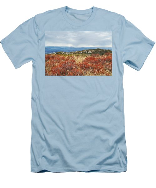 Sandstone Peak Fall Landscape Men's T-Shirt (Athletic Fit)