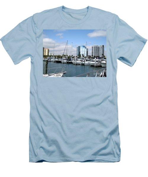 Sarasota Fl Usa Men's T-Shirt (Slim Fit) by Oksana Semenchenko