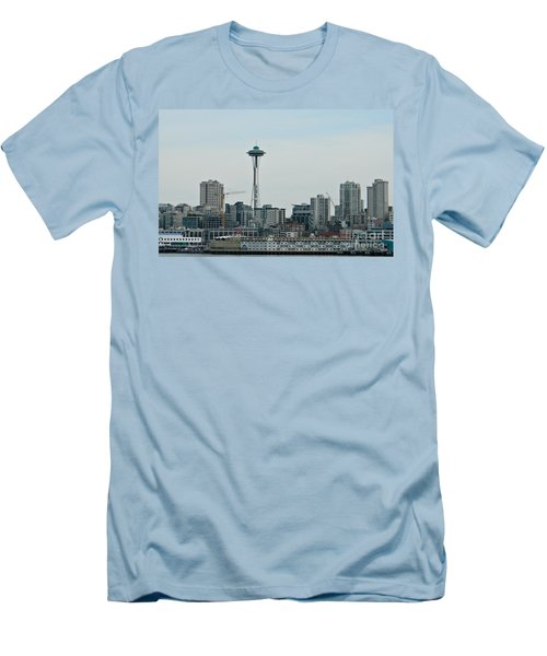 Seattle Washington Men's T-Shirt (Athletic Fit)