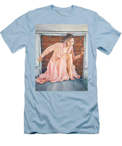 Secret Passage Men's T-Shirt (Slim Fit) by Bryan Bustard