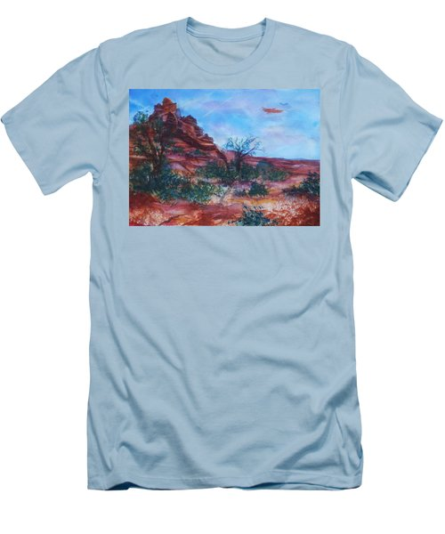 Sedona Red Rocks - Impression Of Bell Rock Men's T-Shirt (Athletic Fit)