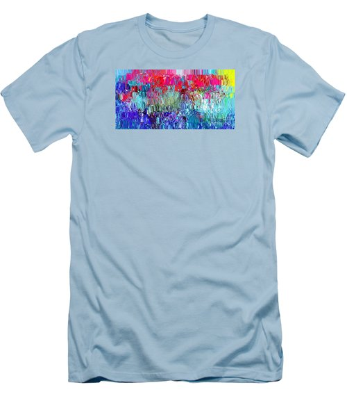 Shattered Men's T-Shirt (Slim Fit) by The Art of Alice Terrill