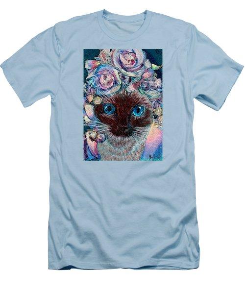 Siamese Bride Men's T-Shirt (Slim Fit) by Michele Avanti