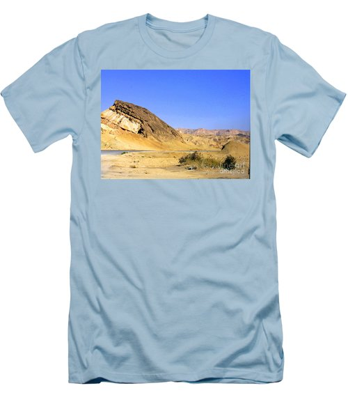 Sinai Desert  Men's T-Shirt (Athletic Fit)