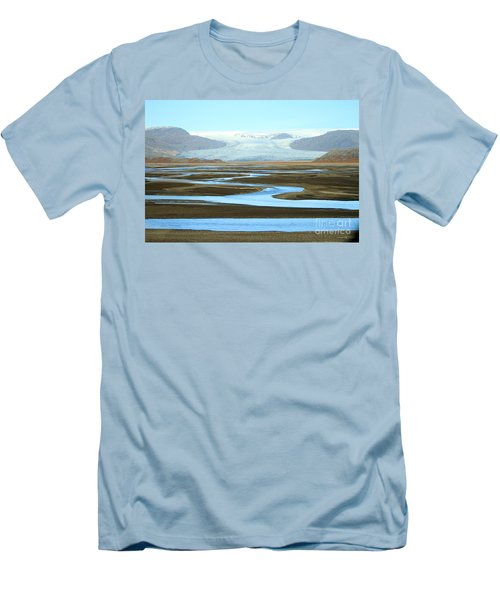 Skaftafell Glacier Men's T-Shirt (Athletic Fit)