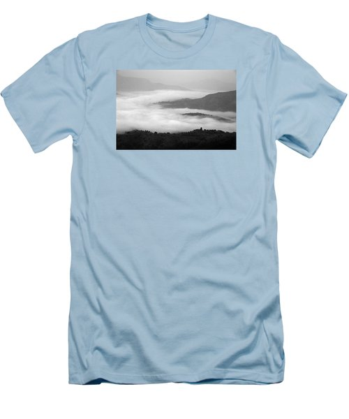 Men's T-Shirt (Slim Fit) featuring the photograph Skc 0064 Heaven On Earth by Sunil Kapadia