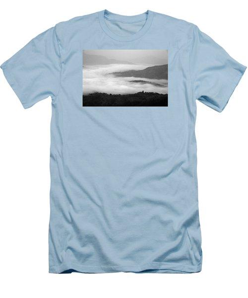 Skc 0064 Heaven On Earth Men's T-Shirt (Slim Fit) by Sunil Kapadia