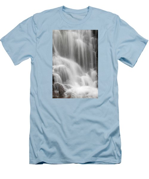 Men's T-Shirt (Slim Fit) featuring the photograph Skc 1419 A Smooth Pattern by Sunil Kapadia