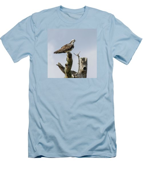 Men's T-Shirt (Slim Fit) featuring the photograph Sky Hunter 2 by David Lester
