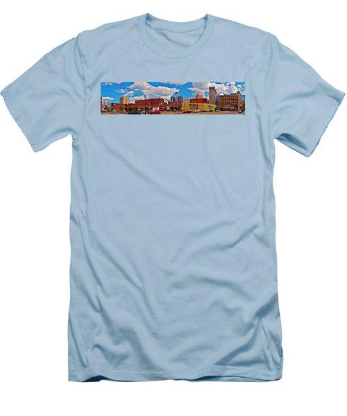 Skyline From The Inside... Detroit Men's T-Shirt (Athletic Fit)