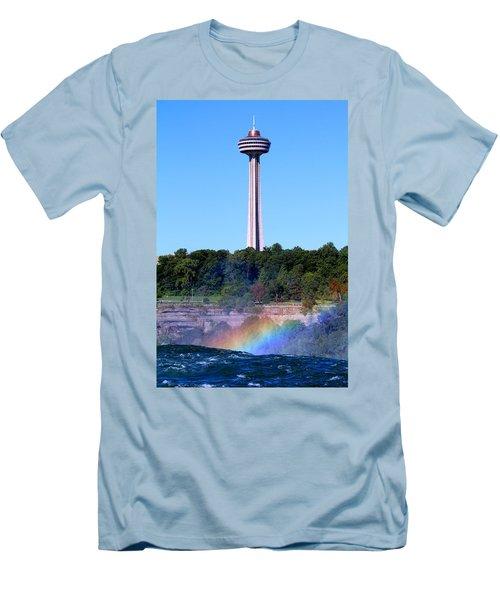Skylon Tower Niagara Falls Men's T-Shirt (Athletic Fit)