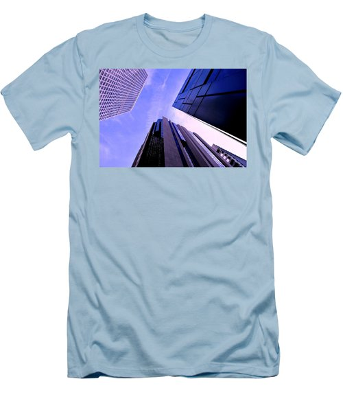 Skyscraper Angles Men's T-Shirt (Athletic Fit)