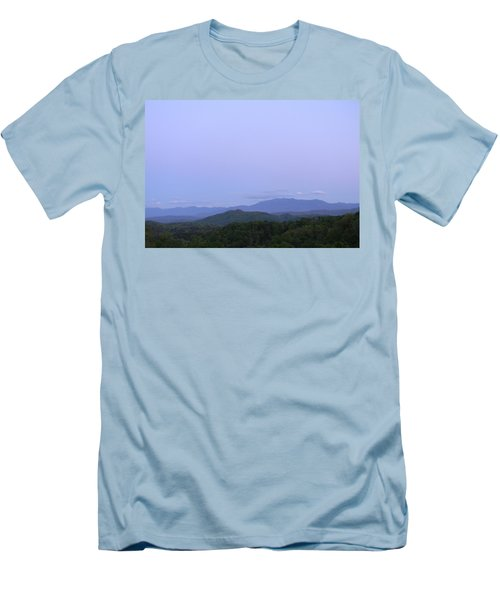 Smokies At Dusk Men's T-Shirt (Athletic Fit)