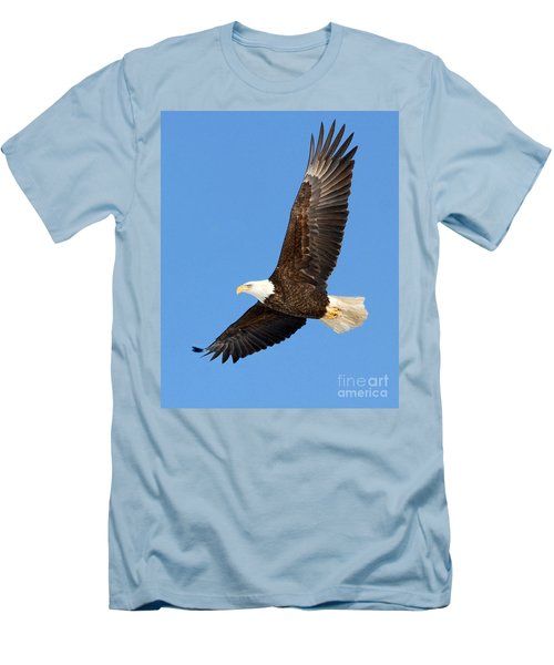 Soaring Eagle Men's T-Shirt (Athletic Fit)