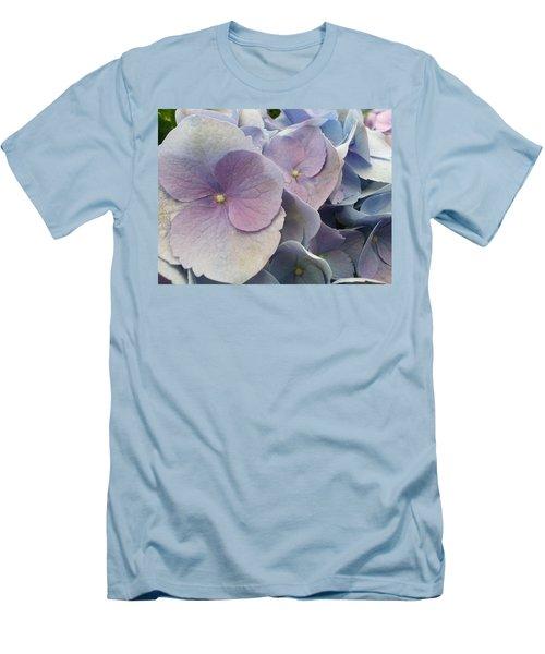 Soft Hydrangea  Men's T-Shirt (Athletic Fit)