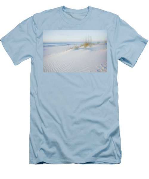 Soft Sandy Beach Men's T-Shirt (Athletic Fit)