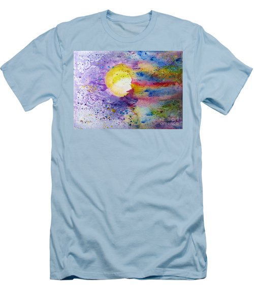 Solar Flair Men's T-Shirt (Slim Fit) by Desiree Paquette