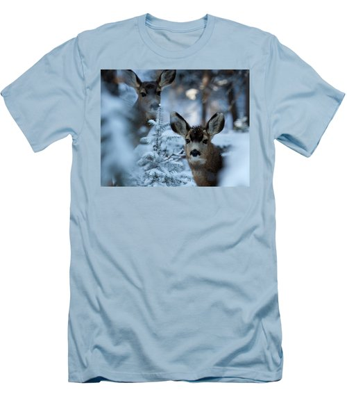 Men's T-Shirt (Slim Fit) featuring the photograph Somebody To Watch Over Me by Jim Garrison