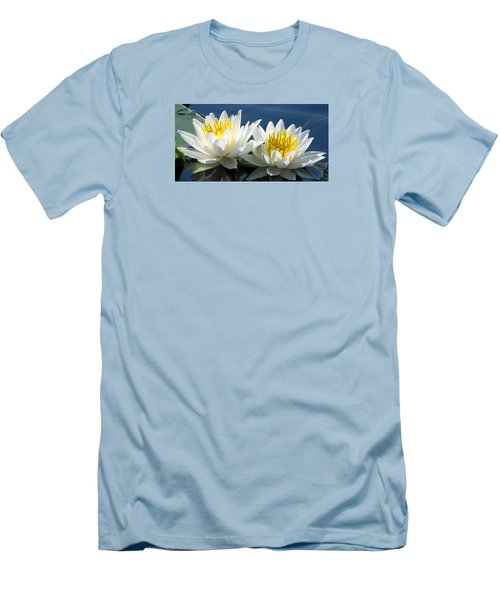 Men's T-Shirt (Slim Fit) featuring the photograph Soulmates by Angela Davies