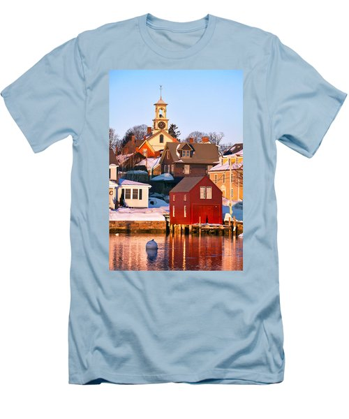 South End Boathouse Men's T-Shirt (Athletic Fit)
