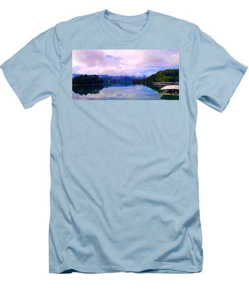 South Holston Lake Tn Men's T-Shirt (Athletic Fit)