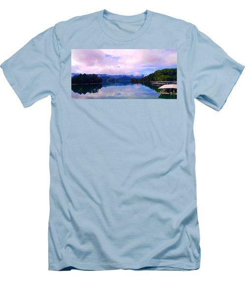 South Holston Lake Tn Men's T-Shirt (Athletic Fit)