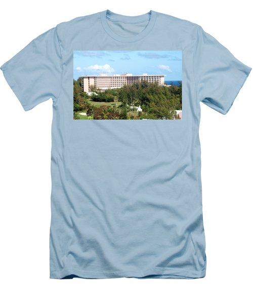Southhampton Princess Bermuda Men's T-Shirt (Athletic Fit)