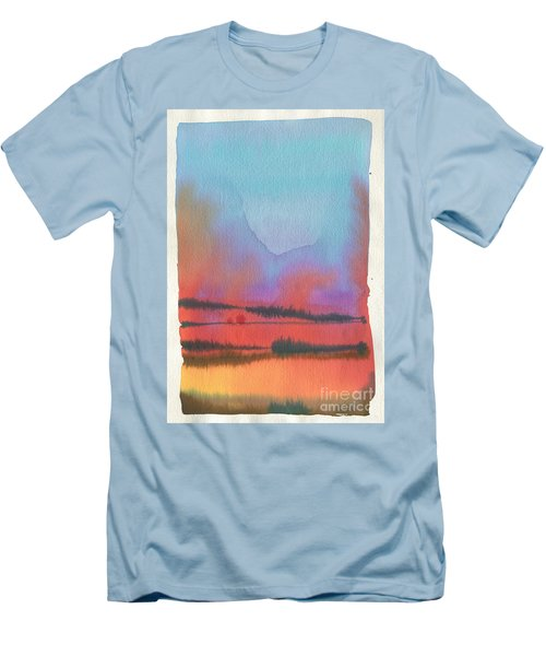 Men's T-Shirt (Slim Fit) featuring the painting Southland by Donald Maier