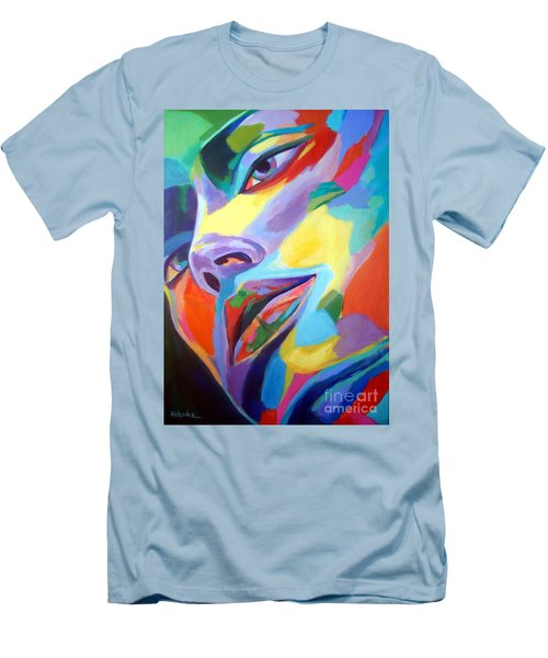 Spellbound Heart Men's T-Shirt (Slim Fit) by Helena Wierzbicki