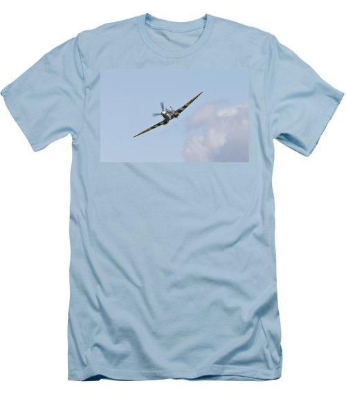 Spitfire Men's T-Shirt (Slim Fit) by Maj Seda