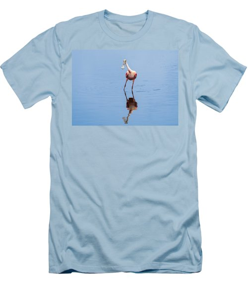 Men's T-Shirt (Slim Fit) featuring the photograph Spoonie Striking A Pose by John M Bailey