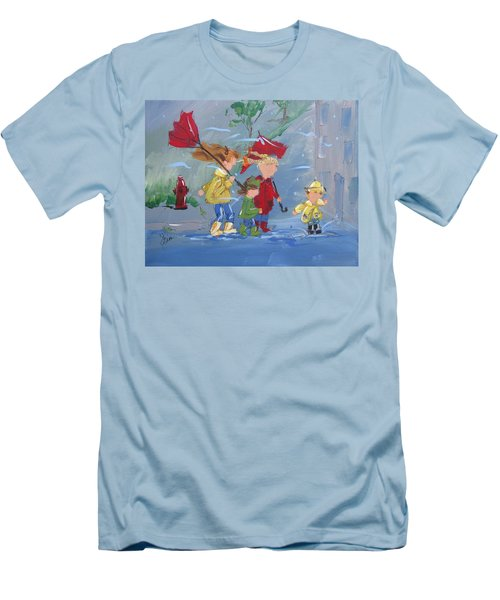 Spring In Our Step Men's T-Shirt (Athletic Fit)