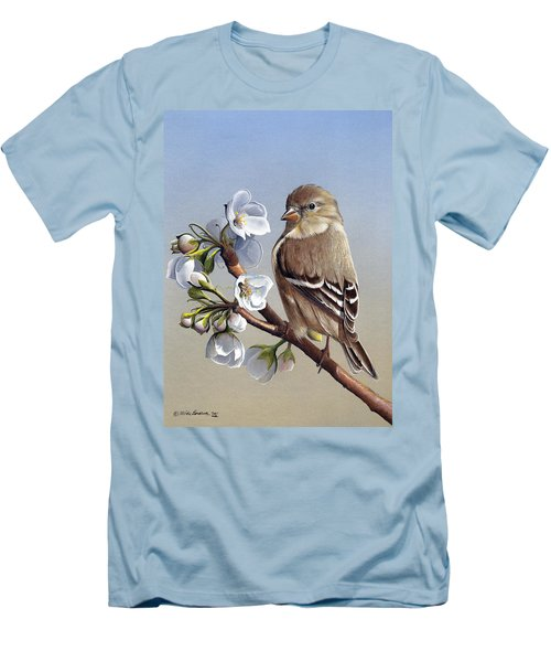 Spring Splendor Men's T-Shirt (Slim Fit) by Mike Brown