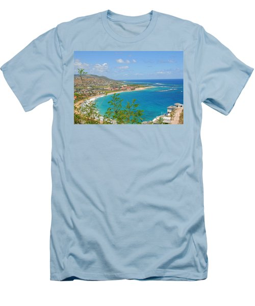 St. Kitts Men's T-Shirt (Athletic Fit)
