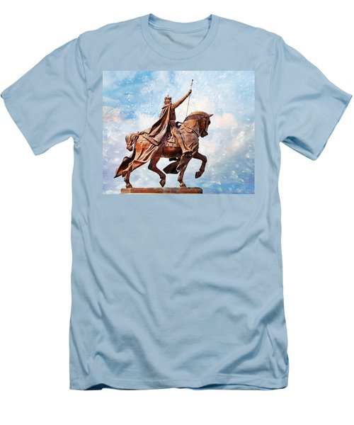 Men's T-Shirt (Slim Fit) featuring the photograph St. Louis 3 by Marty Koch