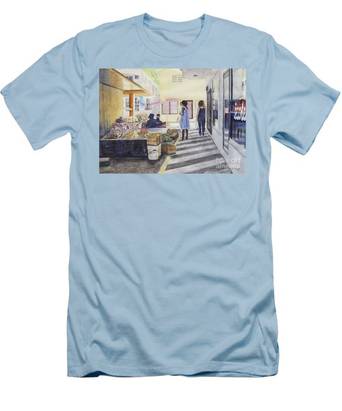 St Martin Locals Men's T-Shirt (Athletic Fit)