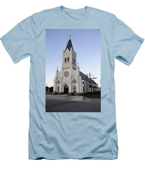 Men's T-Shirt (Slim Fit) featuring the photograph St. Peter's by Fran Riley